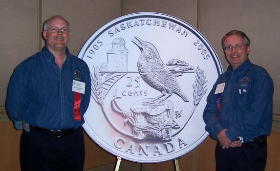 Royal Canadian Mint Reception