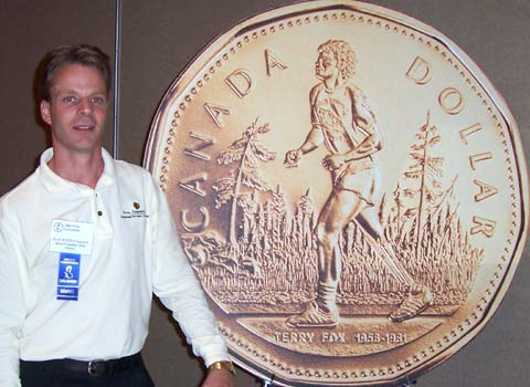Stan Witten, Senior Engraver Royal Canadian Mint, and the Terry Fox One Dollar Coin