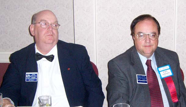 Stan Clute; Paul Johnson, C.N.A. Executive Secretary