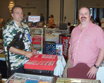 John Burrell, Halton Coins and Collectables; Kyle Mutcher, Four Corners Coin & Currency