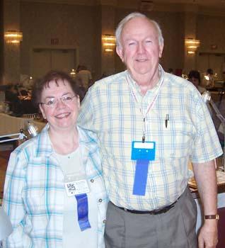 Mr. & Mrs. Willard Burton, B & W Coins
