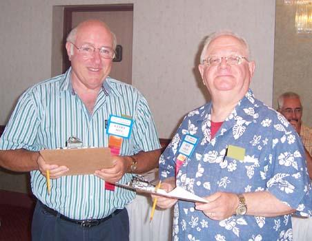 Geoff Bell , C.N.A. Past President; Rick Craig