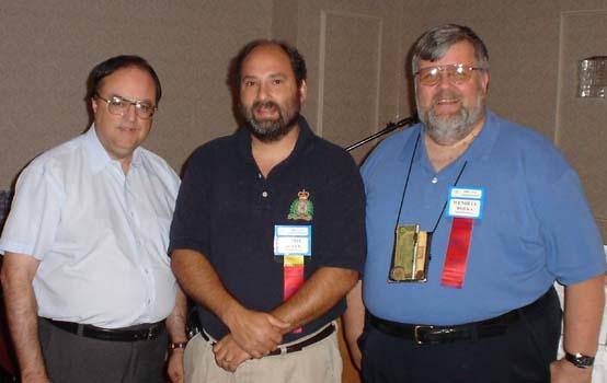 Paul Johnson, Educational Chairman; Chris Boyer; Wendell Wolka