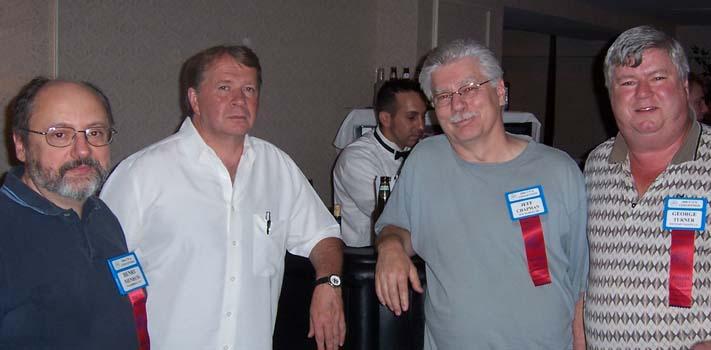 Henry Neinhuis, Robert Forbes, Jeff Chapman and George Turner