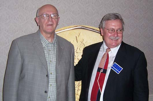 John Regitko, 2006 Convention Chairman and Charles Moore, President of the C.N.A.