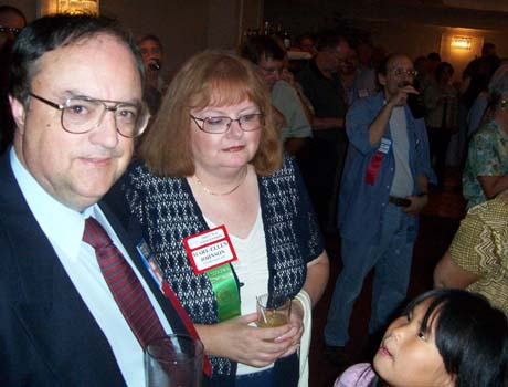 Paul Johnson, C.N.A. Executive Secretary, Mary-Ellen and Laura Johnson
