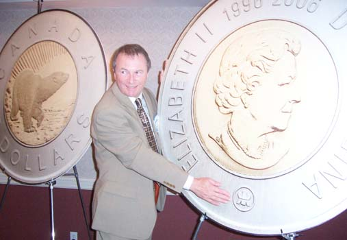 Ian Bennett , President of the Royal Canadian Mint