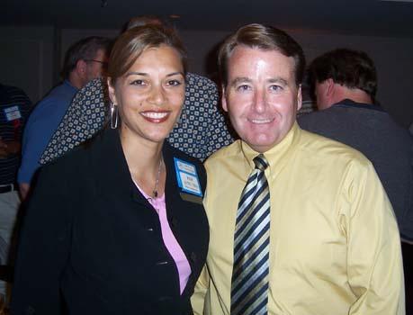 Pam Aung Thin and Ian Graham