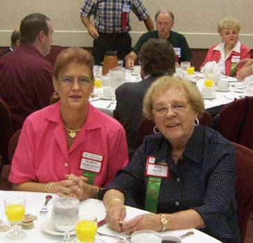 Margaret Stroshine and Rita Sledz
