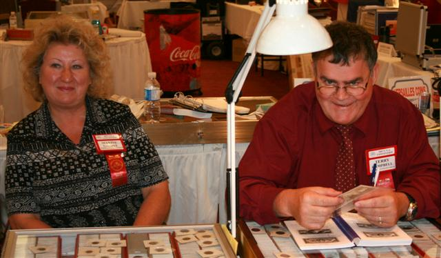 Maxine Gaddye and Terry Campbell, Campbell's Collectibles