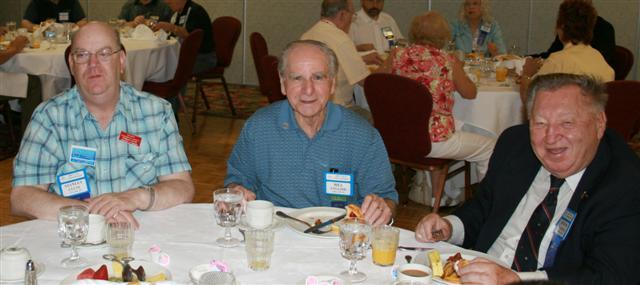 Stan Clute, Bill English and Joseph Karnas