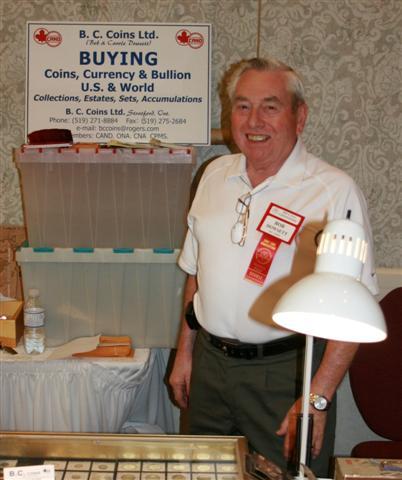 Bob Dowsett , B.C. Coins Ltd.