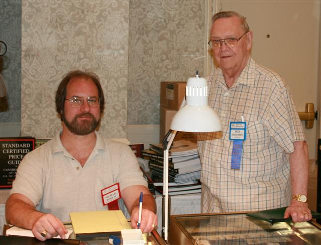Michael Findlay, Certified Coins of Canada and Don Charters