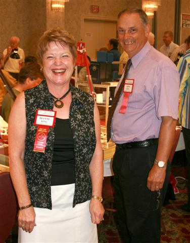 Diane and Ross King, Ross King Numismatics