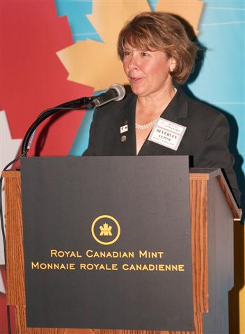 Beverly Lepine , COO of the Royal Canadian Mint
