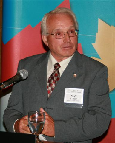 Max Lewis , Chairperson of the Board of Directors of the Royal Canadian Mint