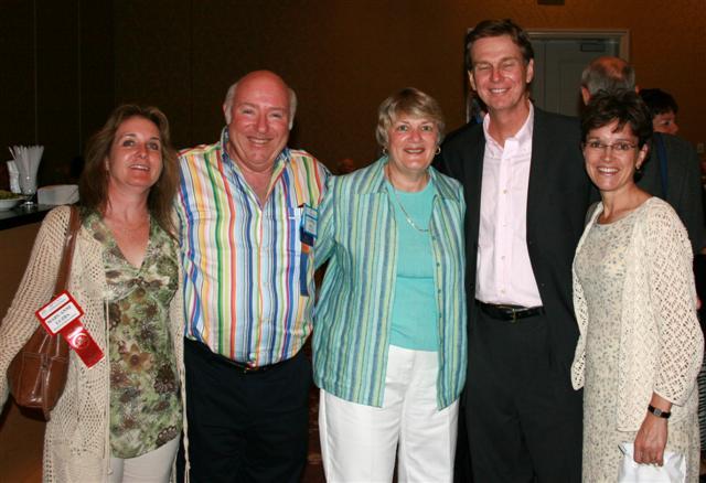 Mary-Anne Luzba, Geoff Bell, Sylvia Bell, Paul & Mary-Lynn Winkler