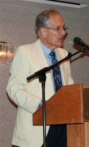 Sherman Zavitz gave the keynote banquet speech