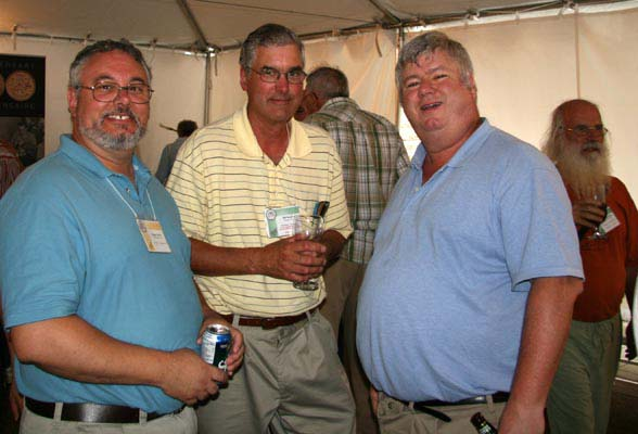 Eugene Belair, Bill Kamb and Rob Turner