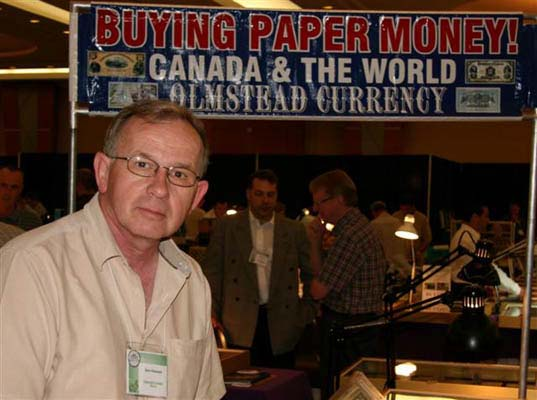 Don Olmstead, Olmstead Currency