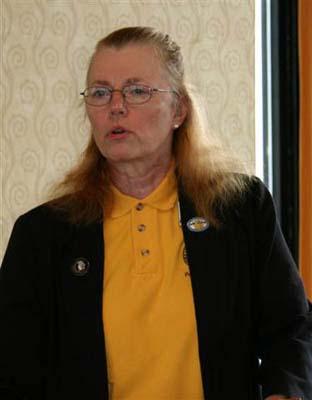 Patricia Jagger Finner, Vice President, American Nunmismatic Association
