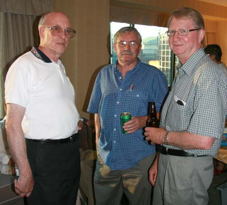 Ron Greene, Dick Dunn and Cliff Beattie