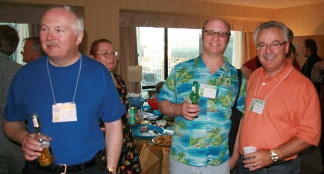 Doug Andrews, Randal Haigh and Greg Ingram