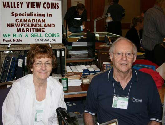 Helen and Frank Noble, Valley View Coins
