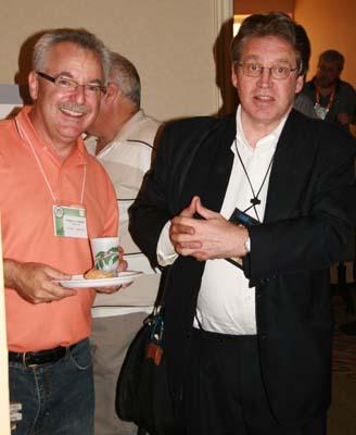Greg Ingram and Tony Hine