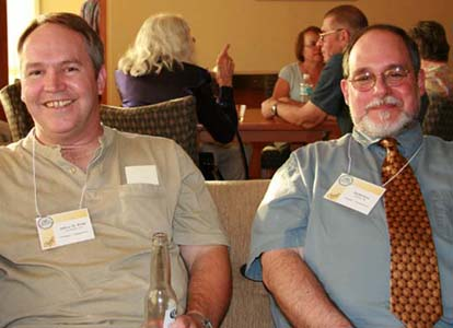 Jeffrey Webb and Ed Herman