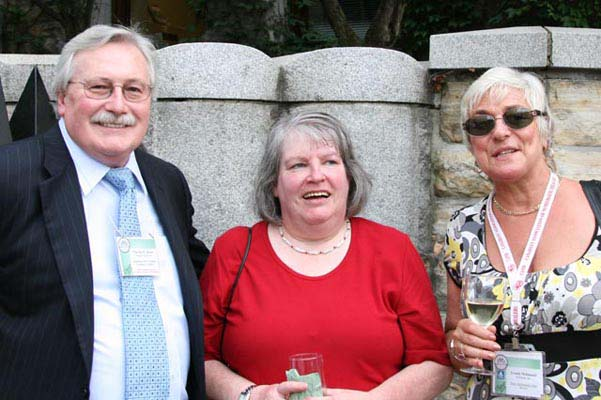 Charles Moore, C.N.A. Past President, France Waychison and Ursula McDonald