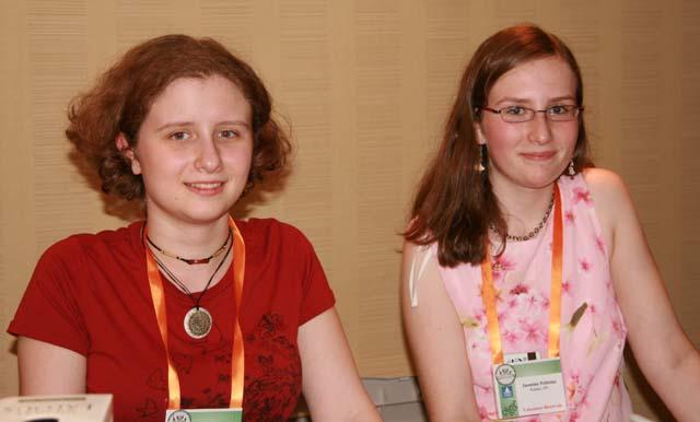 Catherine and Jasmine Pelletier