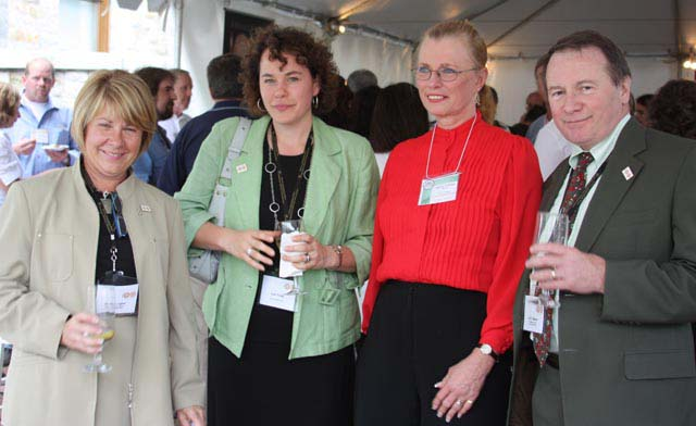 Beverly Lepine, Kate Holmes, Beverly Lepine and Ian Bennett