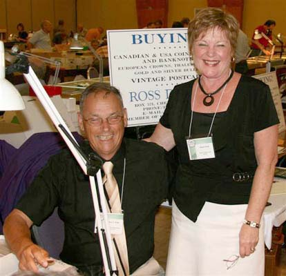 Ross and Diane King, Ross King Numismatics