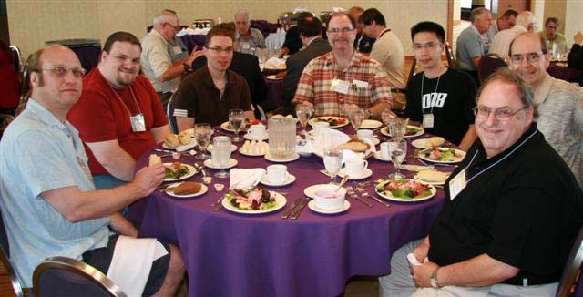 Randal Haigh, Brent Mackie, ?, Paul Berry, Lemann Fung, Ken Aitkins and Michael Zigler (the guest speaker)