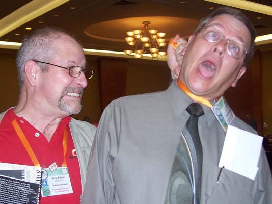 Serge Pelletier and Steve Woodland