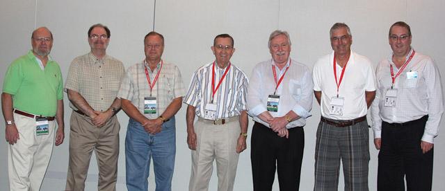 2009 RCNA Exhibit Judges Tim Henderson, Geoff Bell, Len Buth, Paul Berry, Bill Kamb, James Williston, Rick Craig and Phil Carrigan